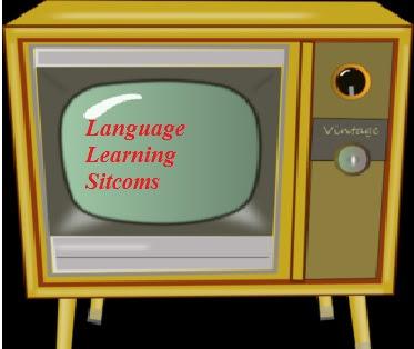Language learning TV