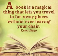 Reading a book quote